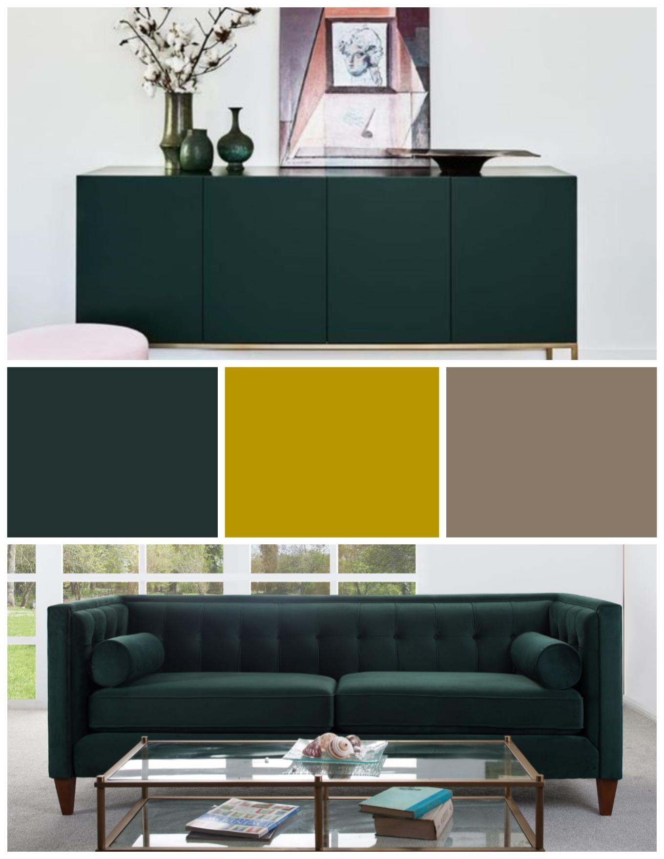 Trending Color: Hunter Green - Jennifer Taylor Home